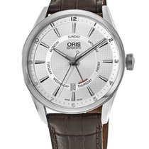 Oris Artix Pointer Steel 42mm Silver United States of America, New York, Brooklyn