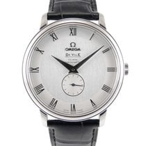 Omega De Ville Co-Axial Staal 39mm Zilver Romeins
