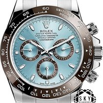 Rolex Platinum Automatic Blue No numerals 40mm new Daytona