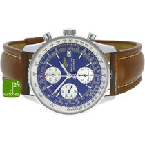 Breitling Old Navitimer Steel Blue No numerals