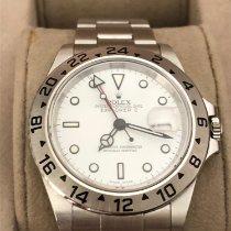 Rolex Explorer II Acciaio 40mm Bianco Senza numeri Italia, Cremona