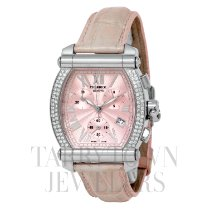 Charriol Steel Quartz Pink Roman numerals 39mm pre-owned Colvmbvs