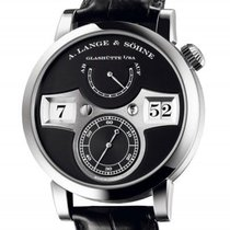 A. Lange & Söhne Zeitwerk White gold 41.9mm Black Arabic numerals