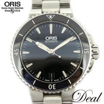 Oris Aquis Date Steel 35mm Black