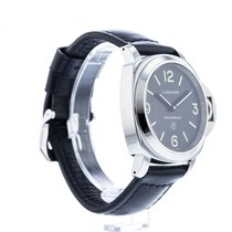 Panerai Luminor Base Logo Aço 44mm Preto