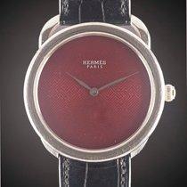 Hermès White gold Automatic pre-owned Arceau