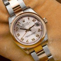 Rolex Lady-Datejust Or/Acier 31mm Rose Sans chiffres