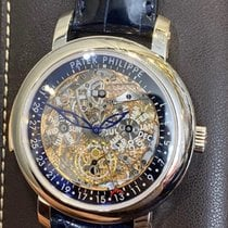 Patek Philippe Minute Repeater Perpetual Calendar Platinum Transparent