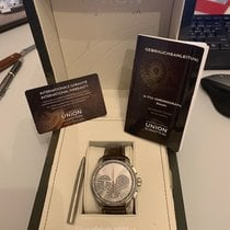 Union Glashütte Belisar Chronograph Steel 43mm Grey