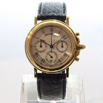 Breguet Marine Yellow gold 36mm Silver (solid)