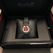Korloff Acél 45mm Kvarc Cr1nr új