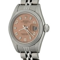 Rolex Oyster Perpetual Lady Date Acier 25mm Arabes