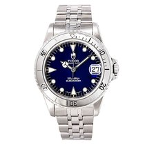 Tudor Prince Date Submariner 75190 Mens Automatic Watch Blue...