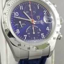 Tudor Tiger Prince Date Steel 40mm Blue Arabic numerals