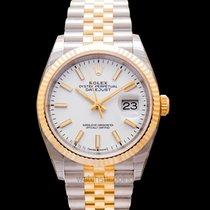 Rolex Datejust Yellow gold 36mm White United States of America, California, San Mateo