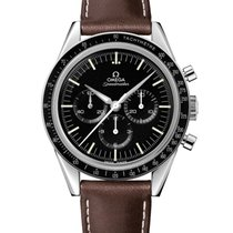 "Omega Speedmaster Moonwatch "" First Omega In Space"" Stainless..."
