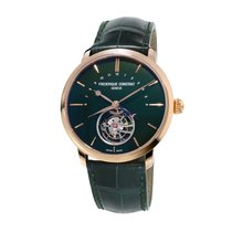 Frederique Constant Manufacture Tourbillon Rose gold 43mm Green