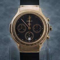 Hublot Yellow gold Quartz Black No numerals 37mm pre-owned Classic