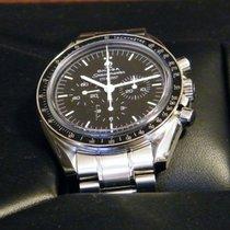 Omega Speedmaster Professional Moonwatch Aço 42mm Preto Sem números Portugal, Agua Longa