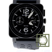 Bell & Ross BR 03 94 Carbon Chronograph Black Dial Black...