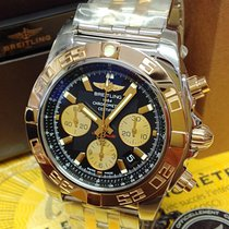 Breitling Chronomat 44 Acero y oro 44mm Negro