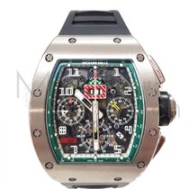 Richard Mille 42.7mm Automatic pre-owned RM 011 Transparent