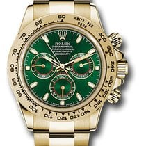 Rolex Daytona Yellow gold 40mm Green No numerals United States of America, New York, New York