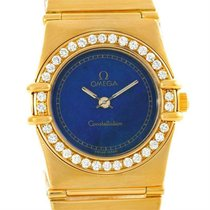 Omega Oro amarillo 25mm usados Constellation Ladies