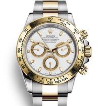 Rolex Daytona Gold/Steel 40mm White No numerals United States of America, New Jersey, Woodbridge