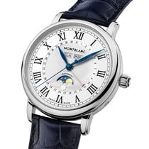 Montblanc Star Steel 42mm Silver Arabic numerals United States of America, New York, NY