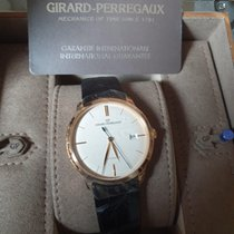 Girard Perregaux Rose gold Automatic White No numerals 38mm new 1966