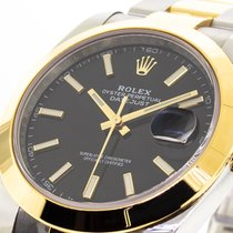 Rolex Datejust Gold/Steel 41mm Black No numerals United States of America, Georgia, Atlanta