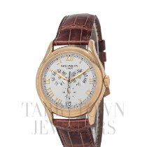Patek Philippe Annual Calendar Yellow gold 37mm Silver Roman numerals United States of America, New York, Hartsdale