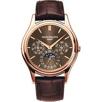 Patek Philippe Perpetual Calendar Rose gold 37.2mm Brown United States of America, Florida, Sunny Isles Beach