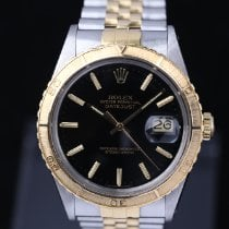 Rolex Datejust Turn-O-Graph occasion 36mm Noir Date Or/Acier