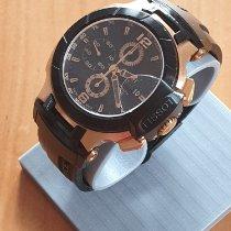 Tissot T-Race rabljen 45mm Crn Kronograf Datum, nadnevak Tahimetar Umjetni materijal
