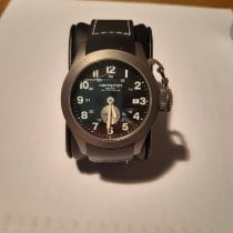 Hamilton Khaki Navy Frogman pre-owned 40mm Black Chronograph Date Rubber