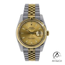 Rolex 116233 Steel 2018 Datejust 36mm pre-owned
