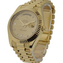 Rolex Used 218238_used Day-Date II President Yellow Gold -...