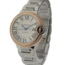 Cartier we902080 Ballon Bleu 33mm Steel and Rose Gold - On...