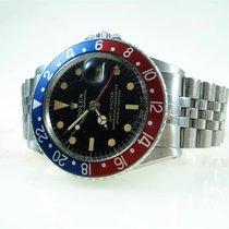 Rolex GMT-Master Steel Black No numerals