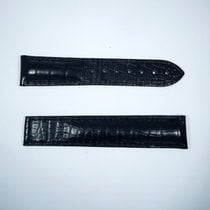 Omega Crocodile 20/18mm Black