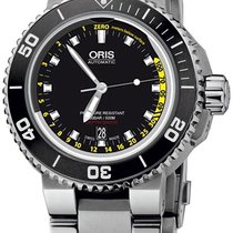 Oris Aquis Depth Gauge Black United States of America, New York, Brooklyn
