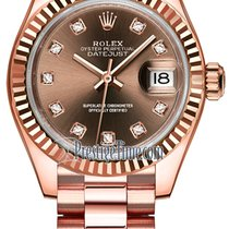 Rolex Lady-Datejust Or rose 28mm