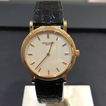 Patek Philippe Calatrava Yellow gold 33mm White No numerals