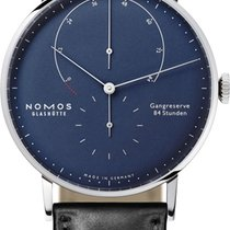 NOMOS Lambda White gold 42mm Blue United States of America, New York, Airmont