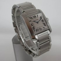 Cartier Tank Francaise Damenuhr Medium 25mm