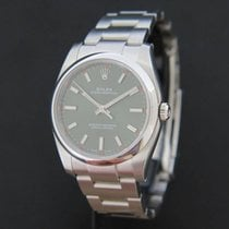 Rolex Oyster Perpetual Olive NEW 114200