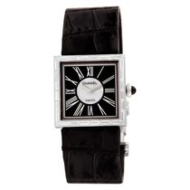 Chanel Mademoiselle White gold 23mm Black Roman numerals United States of America, Florida, Surfside