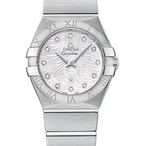 Omega Constellation Quartz 27mm Mother Of Pearl